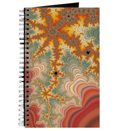 Red Hot Starfish Fractal Journal