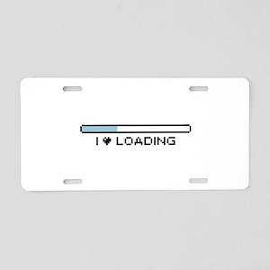 upgrading Aluminum License Plate
