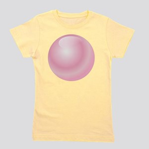 Pink Bubblegum Bubble Girl's Tee