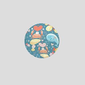 Cute Sea Life Mini Button