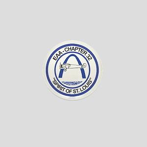 EAA Logo Color Transparent Mini Button