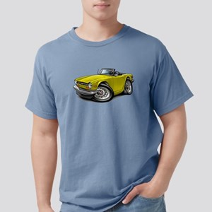 Triumph TR6 Yellow Car T-Shirt