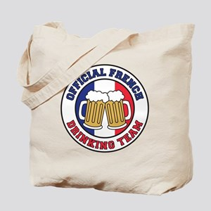 Official French Drinking Team Tote Bag