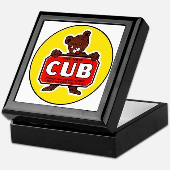 Piper Cub Keepsake Box