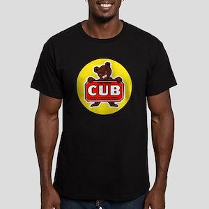 Piper Cub Men's Fitted T-Shirt (dark)