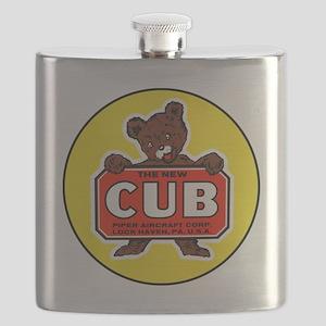 Piper Cub Flask