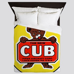 Piper Cub Queen Duvet