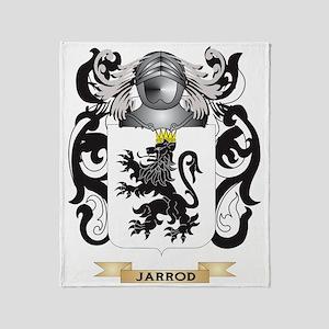 Jarrod Coat of Arms (Family Crest) Throw Blanket