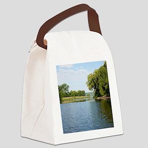 Mississippi River Canvas Lunch Bag