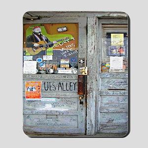 Ground Zero Blues Club Old Doors Graffit Mousepad