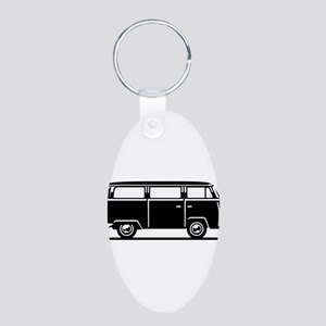 T2 - Drive by Bus (+ your Text) Keychains