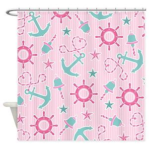 Sailor Girl Shower Curtains