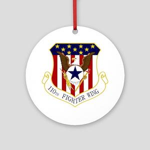 110th FW Round Ornament