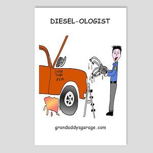 Diesel-Ologist Postcards (Package of 8)
