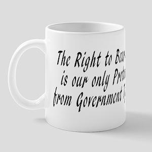 2nd amendment and government tyranny Mug