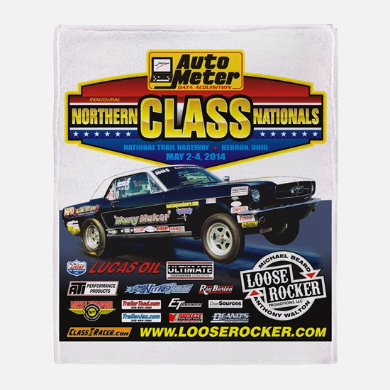 Northern Class Nationals back Throw Blanket