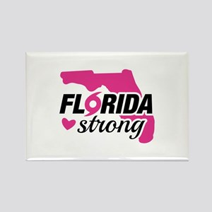 Florida Strong Rectangle Magnet