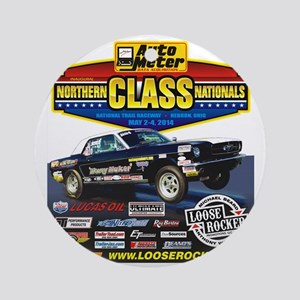 Northern Class Nationals back Round Ornament