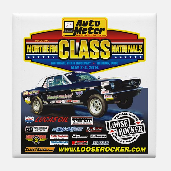 Northern Class Nationals back Tile Coaster