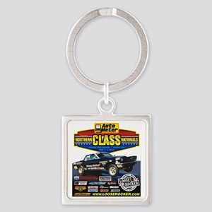 Northern Class Nationals back Square Keychain