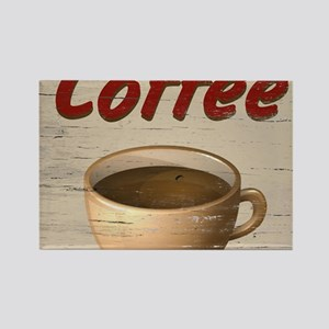 Coffee 2 Rectangle Magnet