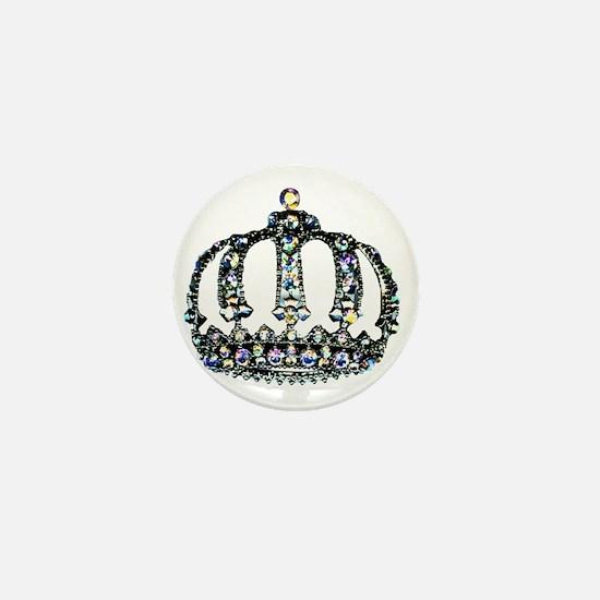 Royal Tiara Mini Button