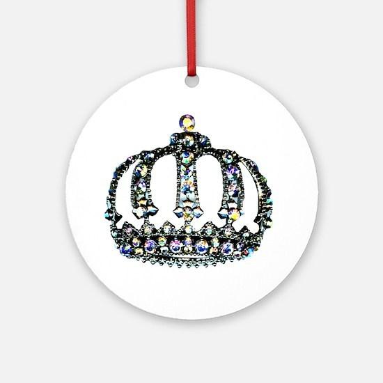 Royal Tiara Round Ornament