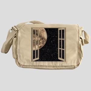 Magical Moon Messenger Bag