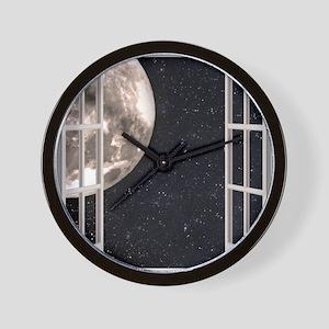Magical Moon Wall Clock