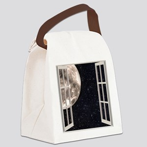 Magical Moon Canvas Lunch Bag
