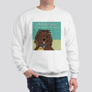 Adopt an Irish Water Spaniel Sweatshirt
