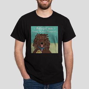 Adopt an Irish Water Spaniel Dark T-Shirt