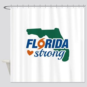 Florida Strong Shower Curtain