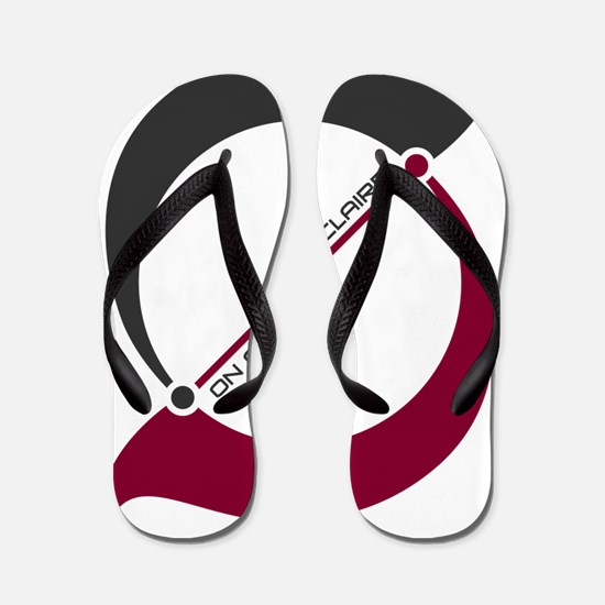 COD logo with flaire Flip Flops