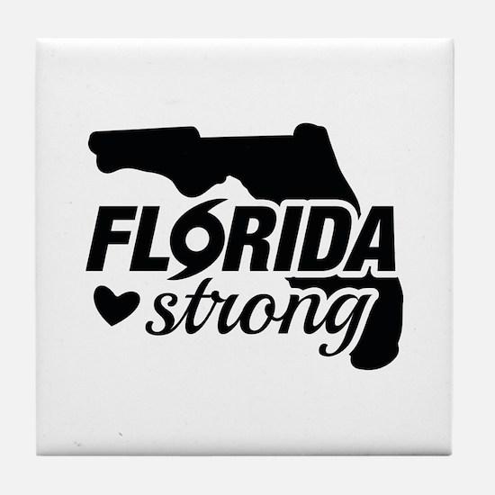 Florida Strong Tile Coaster