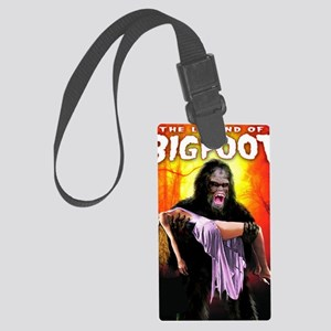 Legend of Bigfoot Large Luggage Tag