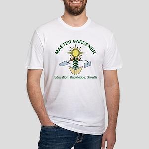 Master Gardener Logo02 Fitted T-Shirt
