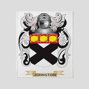 Johnston Coat of Arms (Family Crest) Throw Blanket