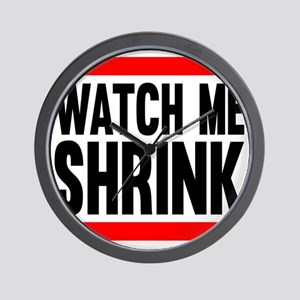 Watch Me Shrink Wall Clock