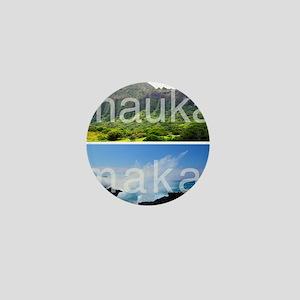 Mauka Makai Hawaii Print Mini Button