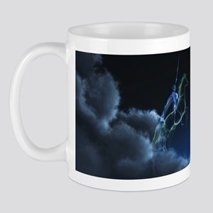 Knight in ghostly armor Mug