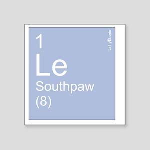 "Element Southpaw Square Sticker 3"" x 3"""