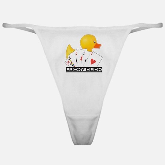 Lucky Duck Poker Classic Thong