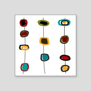 "MCM Art 99 Shower curtain Square Sticker 3"" x 3"""