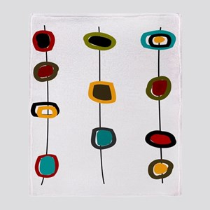 MCM Art 99 Shower curtain Throw Blanket