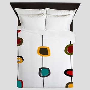 MCM art 99 PILLOWS CLOCKS Queen Duvet