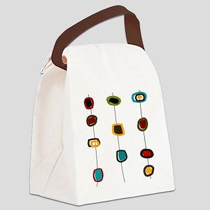 MCM art 99 PILLOWS CLOCKS Canvas Lunch Bag