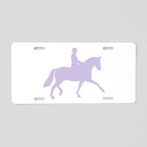 horseriding Aluminum License Plate