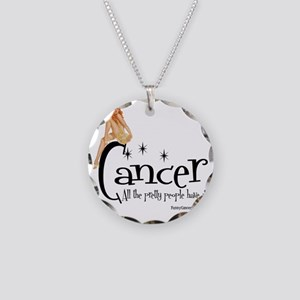 Pretty People Have It Necklace Circle Charm