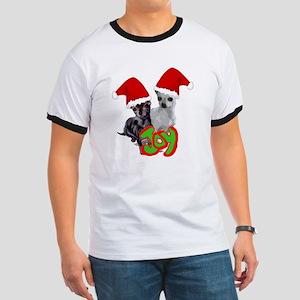 Chihuahua Christmas Ringer T